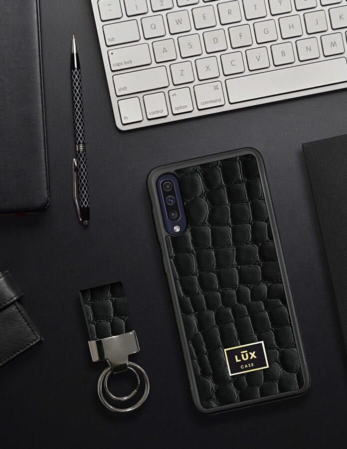 Etui skórzane Samsung Galaxy A50